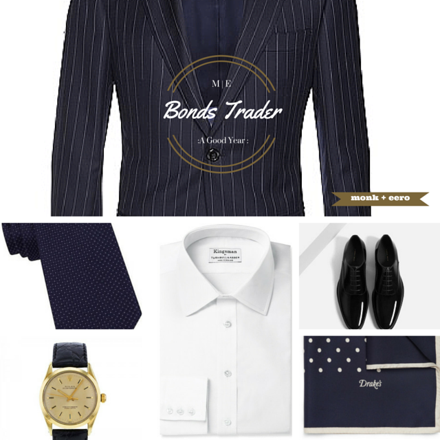 Bond's Trader Outfit Grid - A Good Year (2006)
