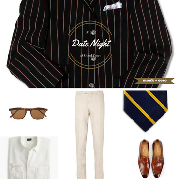 Date Night Outfit Grid - A Good Year (2006)
