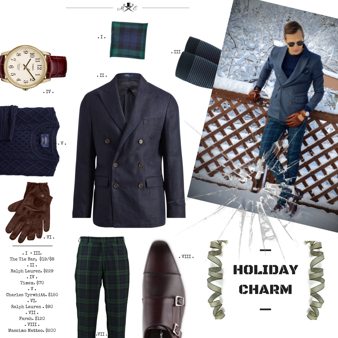 men's-style-guide-how-to-wear-tartan (black watch tartan)