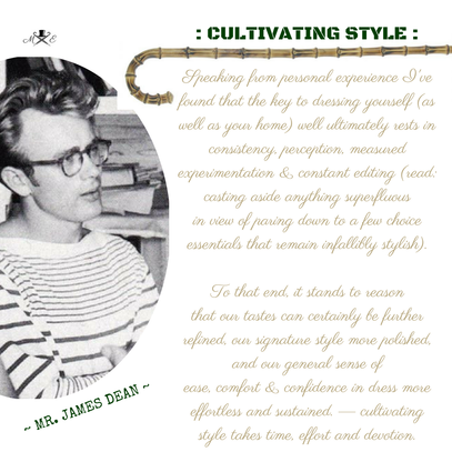 cultivating style - a lesson
