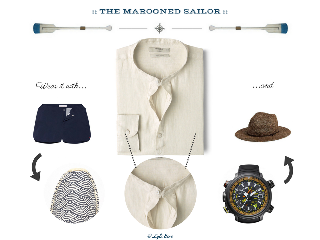 Outfit Inspiration: The Marooned Seafarer/Sailor (monk + eero)