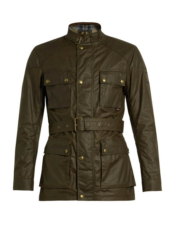 belstaff-waxed-roadmaster-olive-green